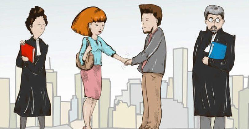 Principales étapes du divorce amiable