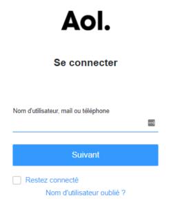 Se connecter - AOL Mail